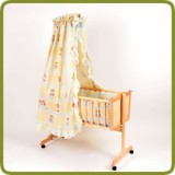 Cradle incl. bedlinen set yellow  - Berceaux et transats