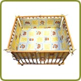 Rectangular playpen insert yellow - Parc et trotteurs